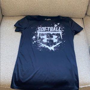 Under Armour softball t-shirt